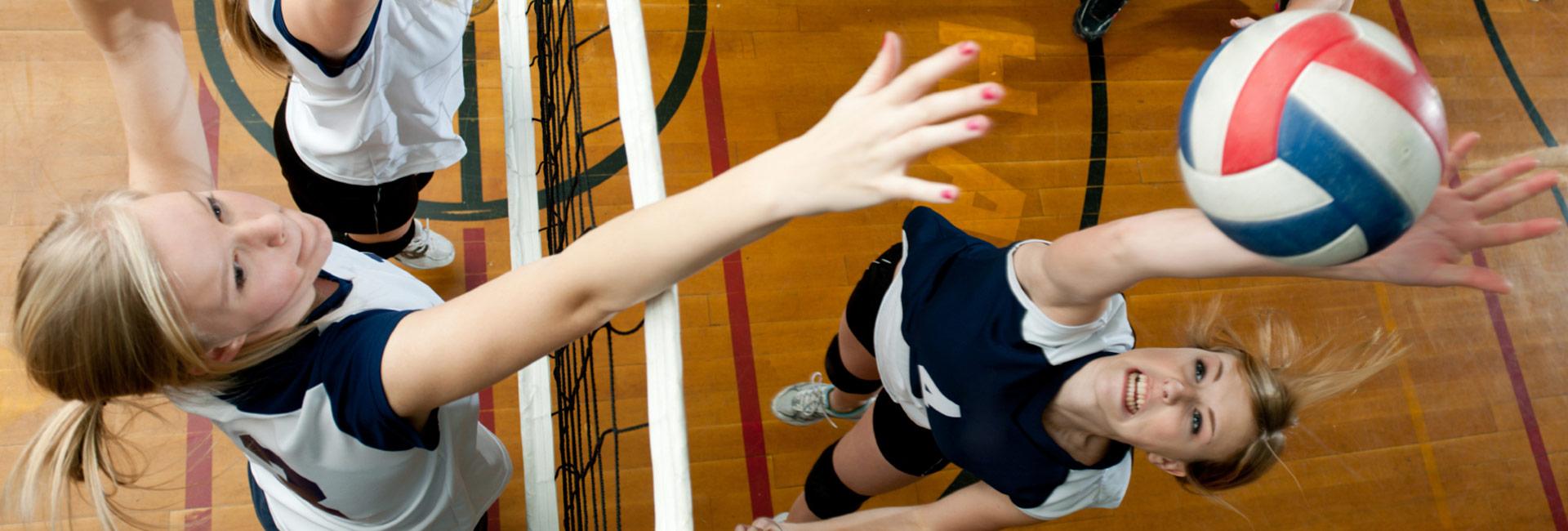 Dynamic-Warmup Volleyball